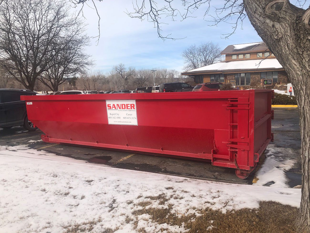 construction dumpster